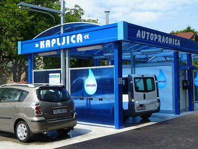 SELF-SERVICE CAR WASH PETRINJA