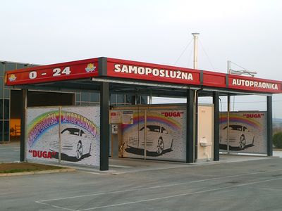 SELF-SERVICE CAR WASH GORIČICA