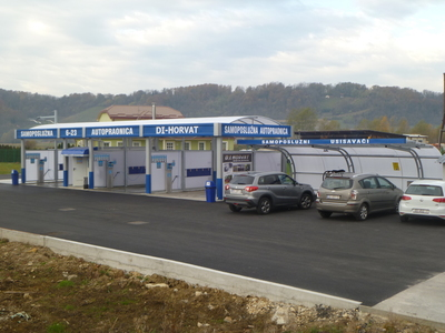 SELF-SERVICE CAR WASH PREGRADA